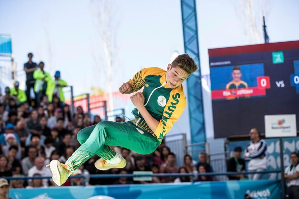 Jordan Smith Olympic Representative of South Africa in the Youth Olympics 2018 only at DanceWeb Studio Randburg South Africa 3