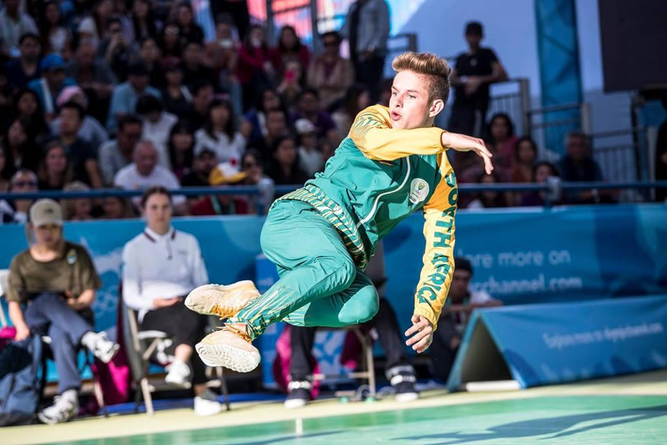 In 2018 Jordan competed in the world championships in Japan and was one of 12 to qualify for the 2018 youth Olympics in Buenos Aires where he ranked 10th.